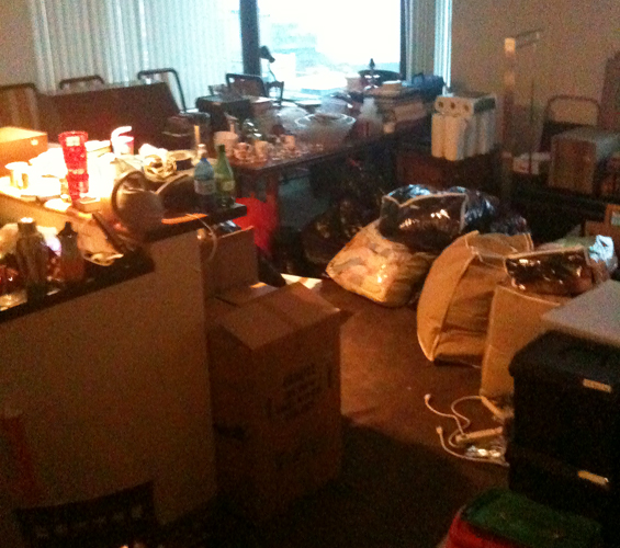 Moving in and we already needed to downsize - How to Downsize