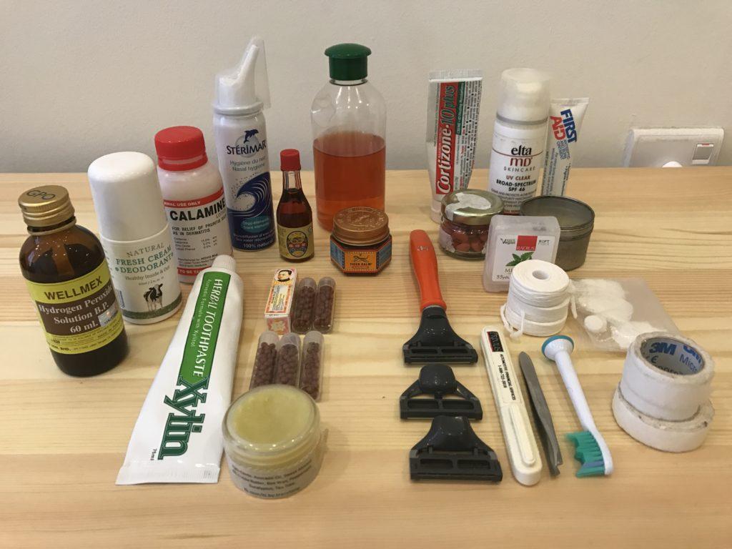 Travel Kit - Healthcare essentials