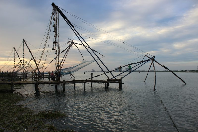 Kerala India - Chinese Fishing Nets - Asia's Vernacular Architecture