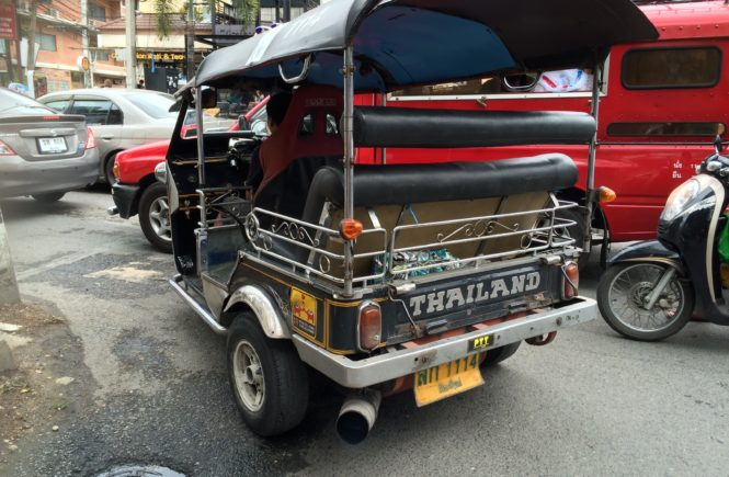 Getting Around in Thailand