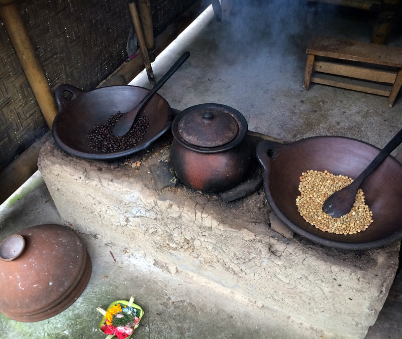 Roasting Coffee Beans in Bali - Bali Visitors Guide