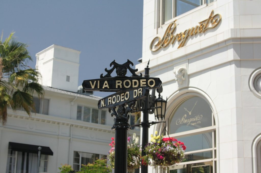 Beverly Hills shopping and dining - Los Angeles with Older Kids