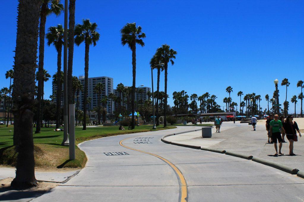 The Boardwalk along the Beach