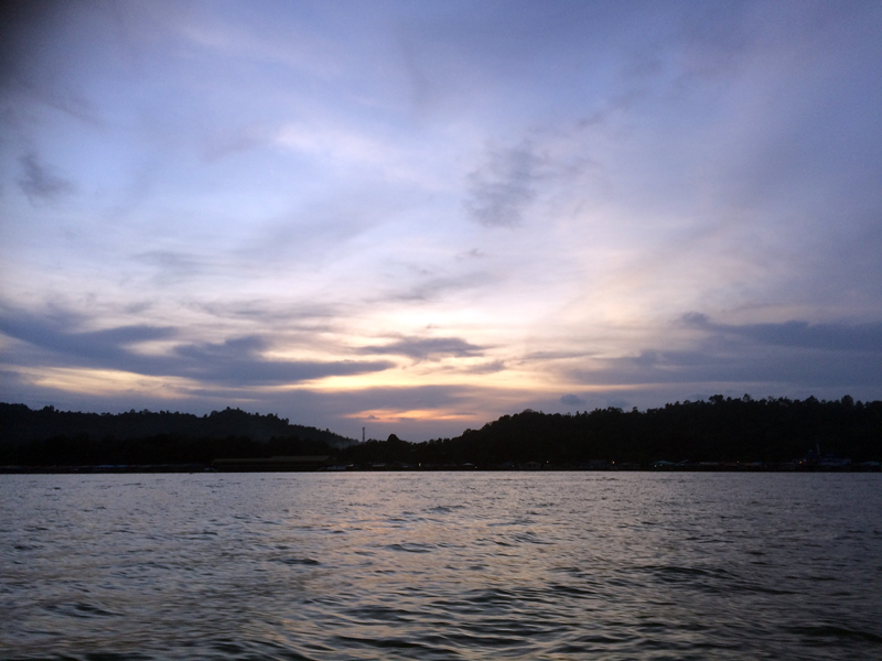 Brunei River View from boat