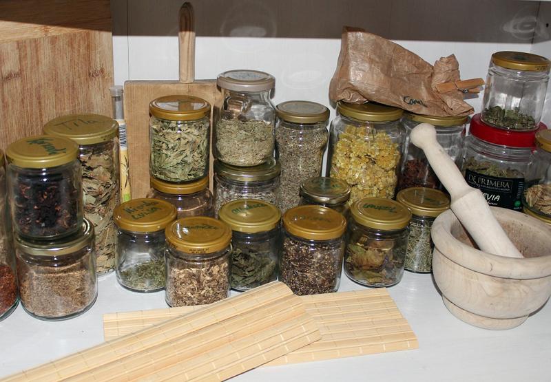 Glass Jars for Storage - Downsizing